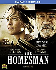 Cover Image for 'Homesman, The  (BD+Digital HD)'