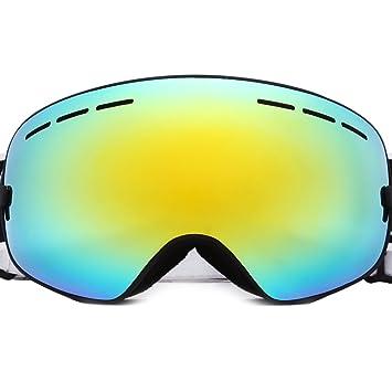 a2cc31280254 BENICE Professional Snowmobile Snowboard Skate Ski Goggles Anti-fog  Extra-large Spherical Double-
