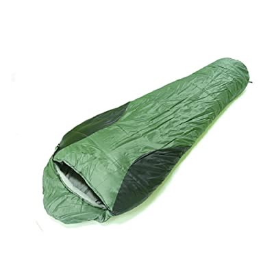 SHUIDAI Plein air sac de couchage/épais/long , green