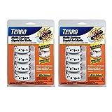 Terro T334SR 2 Pack - 8 Discreet Multi-Surface Liquid Ant 8 Bait Stations, Clear