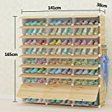 shoebox multi-layer storage shoe cabinet dust shoes home shoe rack simple and modern shoe rack wooden shoe rack-X