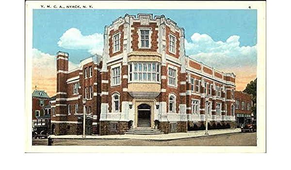 Ymca Nyack New York Ny Original Vintage Postcard At Amazon S Entertainment Collectibles Store