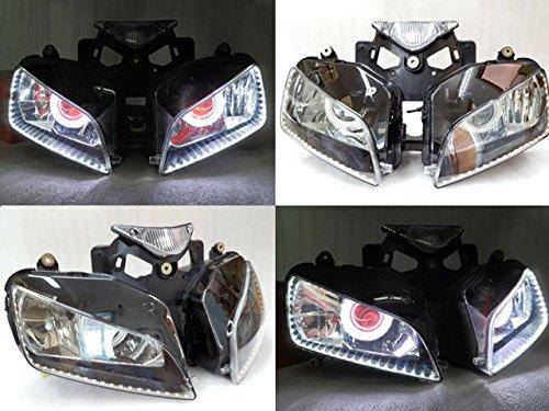 Angel Eye HID Projector Demon Eye Headlight Assembly 2004-2007 Honda CBR 1000 RR