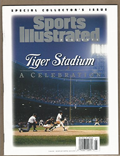 Collectors Edition Tiger Stadium Magazine •Sports Illustrated july 21.1999