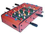 Desktop Mini Foosball Game Tabletop Indoor Soccer 13.5 x 8.5...