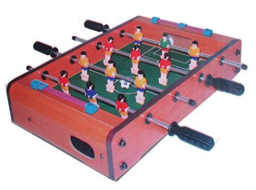 Table Action Foosball Soccer (Desktop Mini Foosball Game Tabletop Indoor Soccer 13.5 x 8.5 Inch)