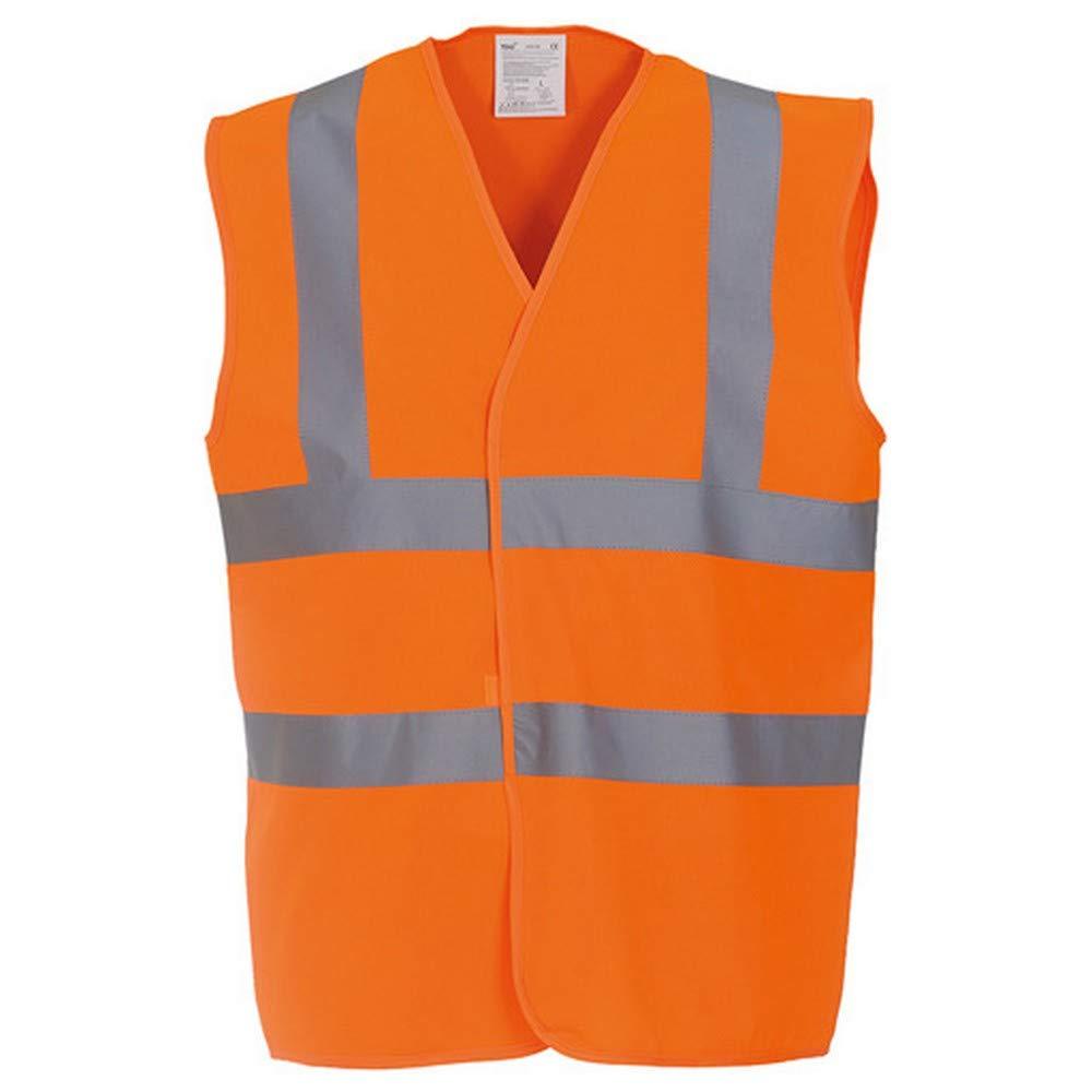 Yoko Unisex Premium Hi-Vis Waistcoat Vest/Jacket