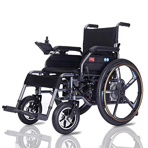 - MLNRDDLY Simple for The Elderly Wheelchair,Electric Simple for The Elderly Wheelchair Folding Lightweight Elderly Disabled Intelligent Automatic Lithium Battery Elderly Scooter
