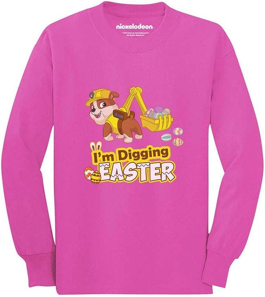 Im Digging Easter Rubble Paw Patrol Toddler//Kids Long Sleeve T-Shirt Tstars