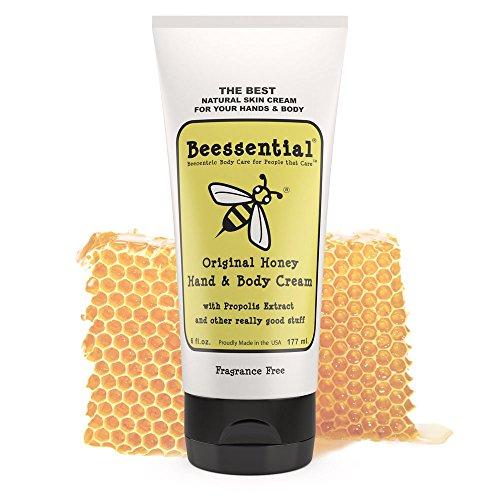 Beessential Original Fragrance Free Cream, Honey, 6 Ounce