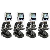 Celestron 5 MP LCD Deluxe Digital USB Microscope (4 Pack)