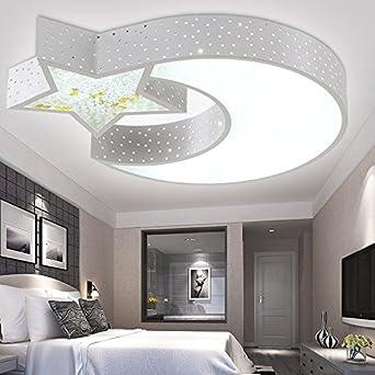 Außergewöhnlich SSBY Schlafzimmer Leuchten Led Minimalismus Der Modernen Chinesischen Stil  Rund Um Die Wohnzimmer Deckenlampe Eisen Stern