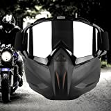 Fashion Motorcycle Goggles Helmet Mask Detachable Ski Bike Motocross Goggles