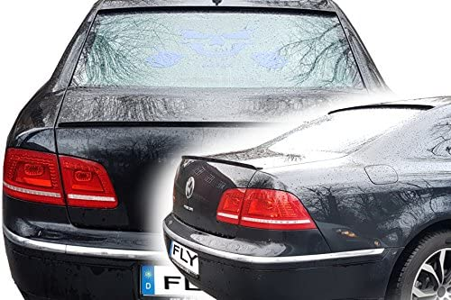 Car-Tuning24 56250598 Phaeton tuning 4Motion heckspoiler spoiler heck lippe becquet SCHWARZ Matt