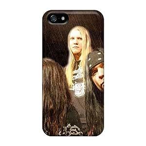 Iphone 5/5s UFy3223jSeL Unique Design Fashion Catamenia Band Skin Shock Absorption Hard Phone Cover -JonBradica