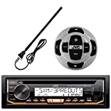 Best JVC XO Vision Bluetooth Audio Receiver For Cars - JVC KD-R97MBS In-Dash Marine Boat Yacht Bluetooth Radio Review