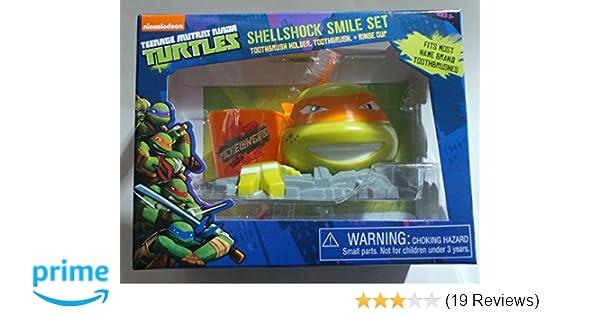 Nickelodeon Teenage Mutant Ninja Turtles Shellshock Smile Set, 3 Pc (COLORS MAY VARY)