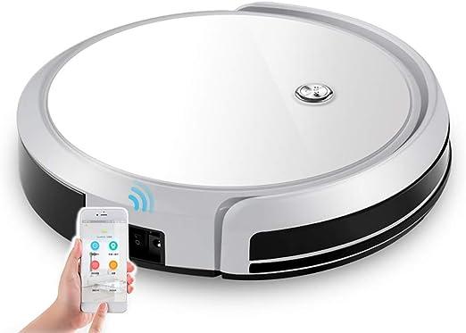 LWBN Robot Aspirador, Smart Chip Control Cleaning Robot Aspirador FáCil De Organizar Limpieza Y Autocarga para Pisos Duros Y Alfombras Finas: Amazon.es: Hogar
