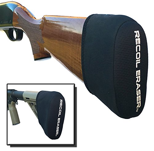 Recoil Eraser - Slip On Recoil Pad, Gel Filled (Best 20 Gauge Shotgun For Sporting Clays)