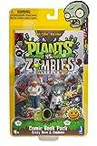 Plants vs Zombies Comic Book Pack Action Figure, 3