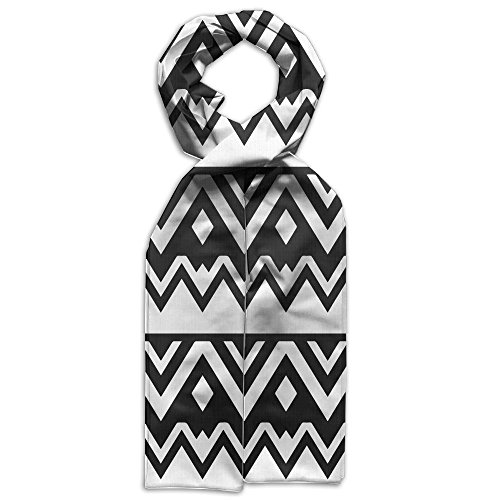 Price comparison product image Aztec Black And White Gift Neck Graffiti Young Design Scarf