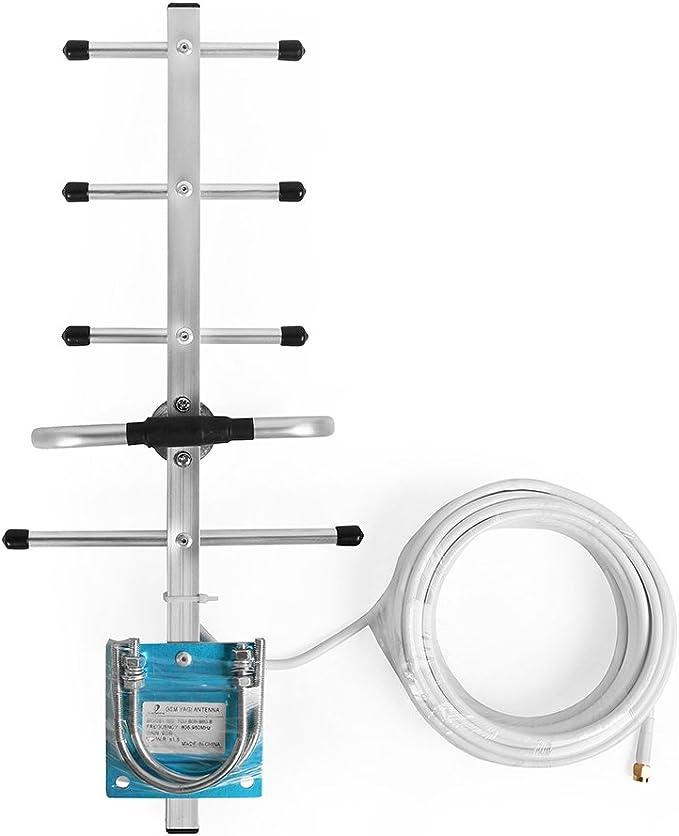 Antena Yagi de exterior de 800/850/900MHz GSM con el cable ...