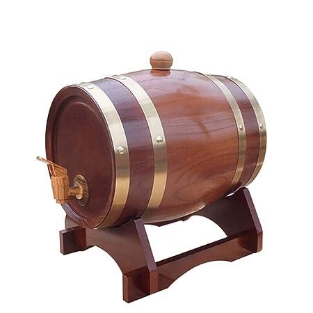 Hqcc Wooden Oak Barrel Vat Wine Barrel Decorative Wine Barrel Beer
