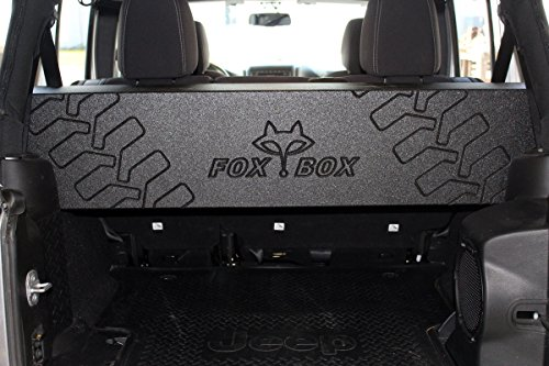 FOX ACOUSTICS JEEP WRANGLER JK UNLIMITED 4 DOOR DUAL 12