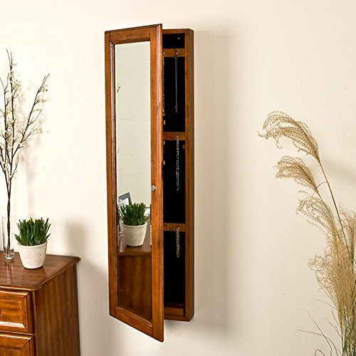 SEI Wall-Mount Jewelry Mirror