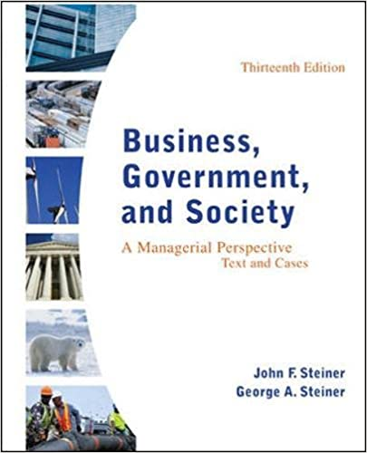 Business government and society a managerial perspective text business government and society a managerial perspective text and cases 13th edition john f steiner george a steiner emeritus 9780078112676 fandeluxe Image collections