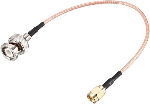 Sourcingmap RG316 - Cable coaxial con conector BNC macho a ...