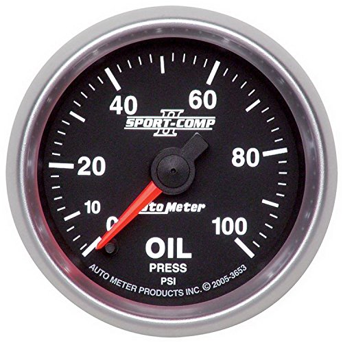 Auto Engine Gauges : Autometer engine oil pressure gauge frugal mechanic