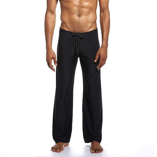 Toimothcn Mens Elastic Waist Casual Lounge Pajama Jogger ...