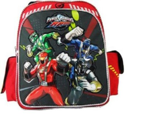Power Ranger Shoes (Medium Backpack - Power Rangers - RPM Toddler School Backpack)
