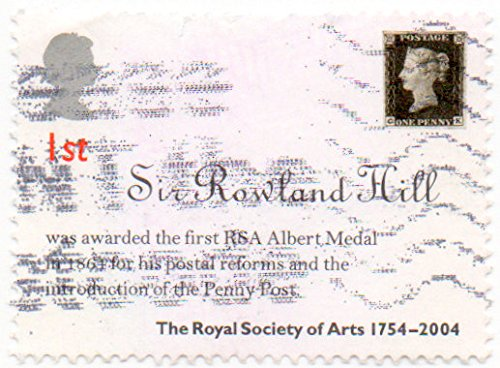 - UK (England, Great Britain) Postage Stamp Single 2004 Royal Society Of Arts 250th Anniversary Issue Queen Elizabeth II 1st Class Scott #2222