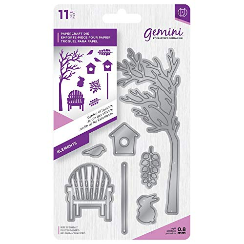 Die Set Garden - Crafter's Companion Gemini - Elements Die Set - Garden of Seasons
