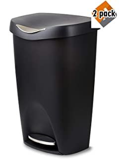 Amazon com: Umbra Brim 13 Gallon Trash Lid-Large Kitchen Garbage Can