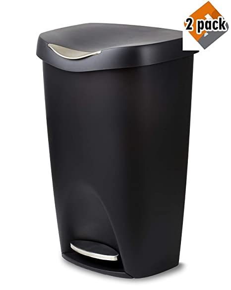 Amazon.com: Umbra Brim 13-Gallon - Lata de basura: Home ...