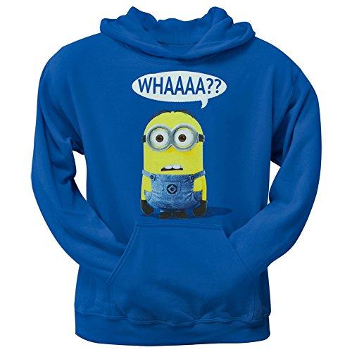 Despicable Me Minion Whaa Mens Hoodie Sweatshirt-medium (Minion Sweatshirt Mens)