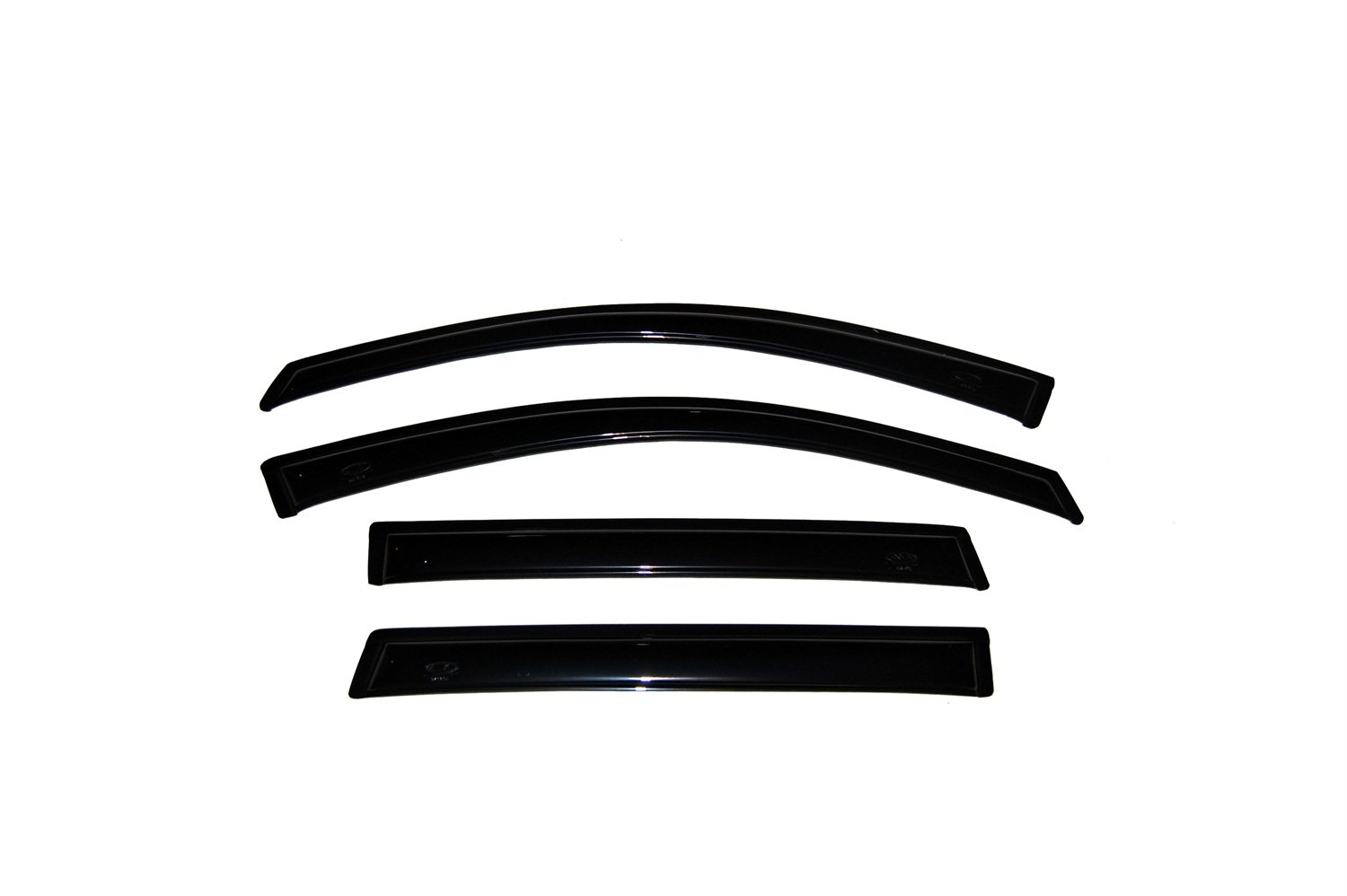 Auto Ventshade 94501 Original Ventvisor Side Window Deflector Dark Smoke, 4-Piece Set for 2005-2009 Hummer H3
