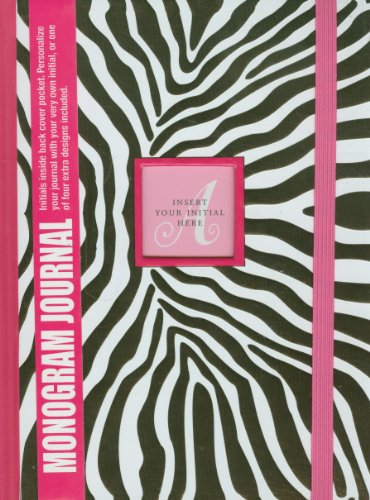 Zebra Journal - Zebra Monogram Journal (Diary, Notebook)