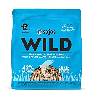 Sojos Wild Natural Freeze-Dried Raw & Dehydrated High Protein Dog Food 111