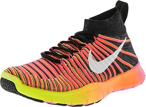 Nike Free Train Force Flyknit, Men's Hiking Shoes Black (Multi-colored)