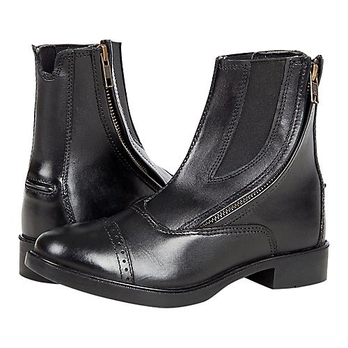Daisy Clipper Children's Leather Paddock Boots, Black, 5
