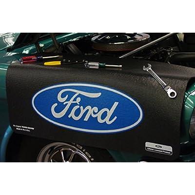 Fender Gripper FG2101 Mat (Ford Blue Oval): Automotive