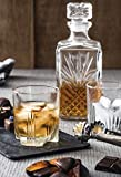 Bormioli Rocco Selecta 7-Piece Whiskey Gift Set, Frustration Free Packaging