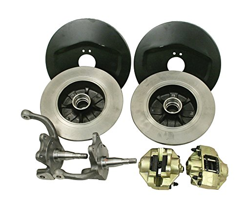 EMPI 22-2850-0 VW Bug Front Disc Brake Kit, 4/130, for Ball Joint Front Ends (Vw Disc Brake Conversion Kits compare prices)