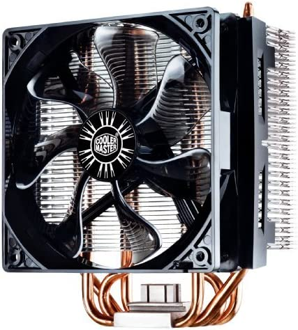 Cooler Master Hyper t4 CPUクーラーwith 4直接接触Heatpipes rr-t4 – 18pk-r1サイズ: Hyper t4 PC , Personal Computer