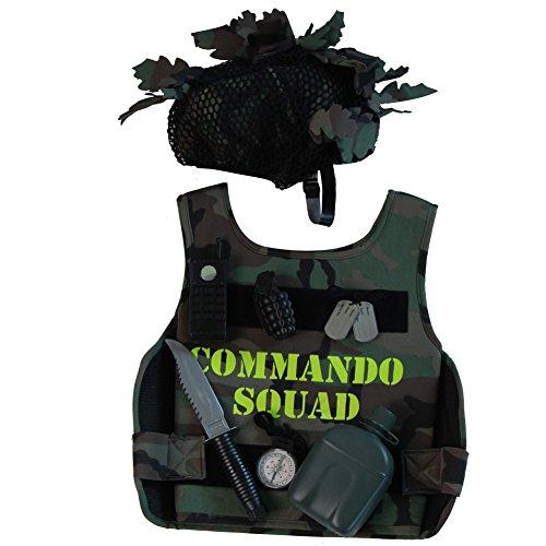Making Believe Kids Army Soldier Combat Hero