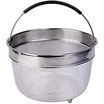 Amazon.com: Steamer Basket for 6 Qt Instant Pot Pressure